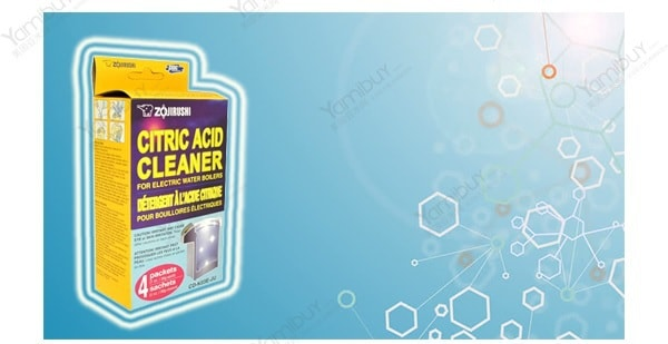 Zojirushi citric acid cleaner