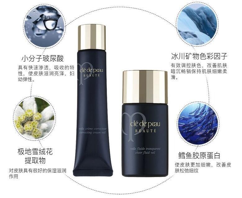 【日本直邮】CLE DE PEAU BEAUTE CPB肌肤之钥 钻石光感滋润型隔离妆前乳 SPF20++ 40g