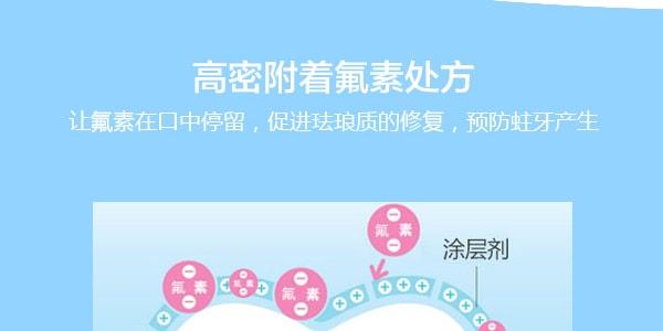 日本LION狮王 CLINICA酵素洁净美白防蛀修护牙膏 温和薄荷味 130g